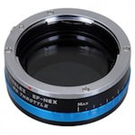 FotoDiox Vizelex ND Throttle – Variable ND Lens Mount Adapter