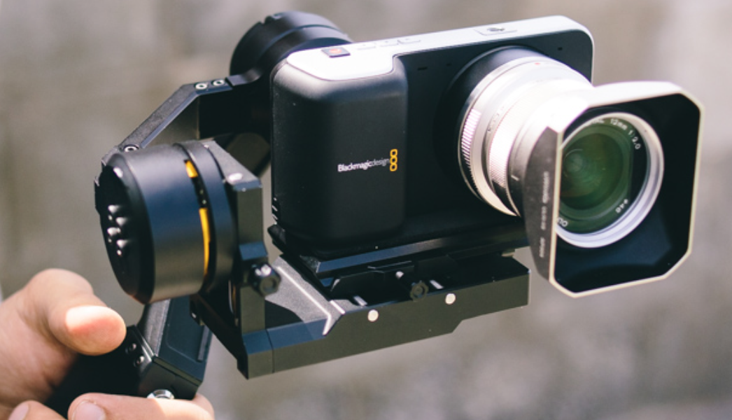 Blackmagic Pocket Gimbal Stabilizer Big Balance Cheesycam