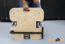 Cheesycam DIY Doorway Dolly Platform Tripod Track Dolly