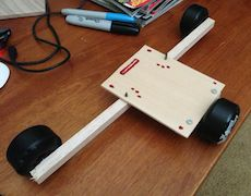 Cheesycam Prototype Dolly