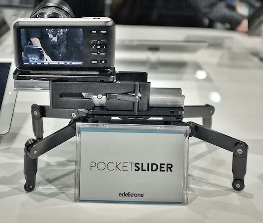 NAB 2014: Edelkrone Pocket Series Camera Stabilizers Rigs Dollies + WING Concept