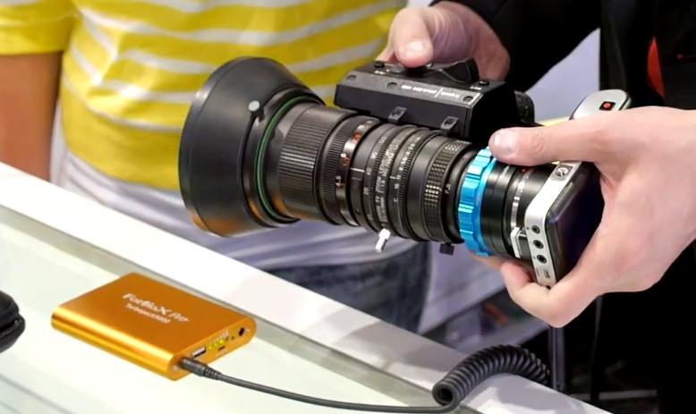 FotoDiox PowerLynx ENG BroadCast B4 lens Servo Zoom Adapter Kit