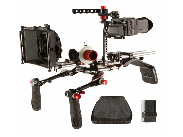 NAB 2014: Shape Kirk Neff 2.0 DSLR Video Shoulder Rig Bundle