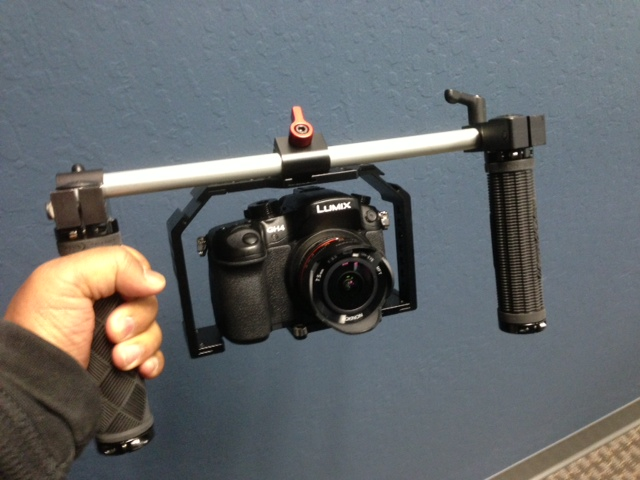 Cheesycam Pico Plate Honu Cage Handles GH4 Video