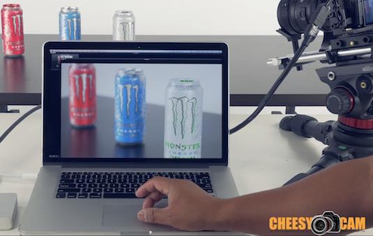 cheesycam use macbook laptop as hdmi video monitor camera blackmagic intensity scopebox dslr video