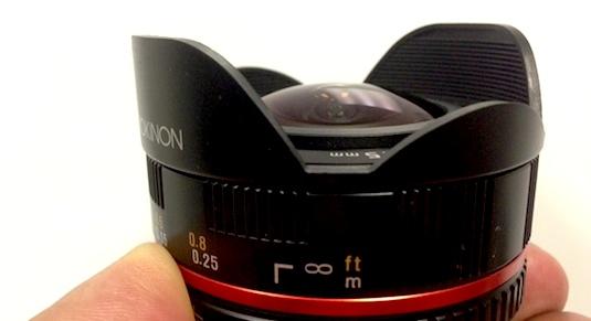 rokinon Fisheye Lens