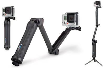 GoPro 3-Way Camera handle Extension Tripod