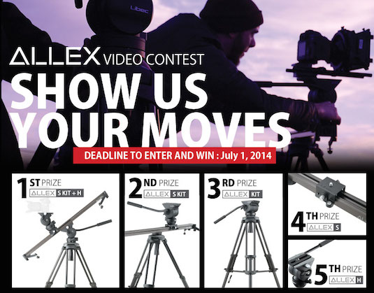 Reminder – Libec ALLEX Show Us Your Moves Video Contest