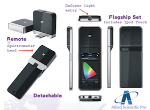 Lighting Passport iOS iPhone iPod LED Spectrometer Light Meter
