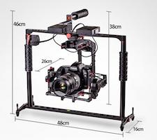 preorder birdycam varavon 3 axis gimbal stabilizer