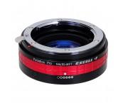 Fotodiox Nikon to MFT M43 GH4 BMPCC Lens Adapter