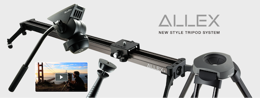 Libec Allex Slider Tripod Video Fluid Head Kit System 2