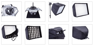 Soft Box and bracket r-300 led light