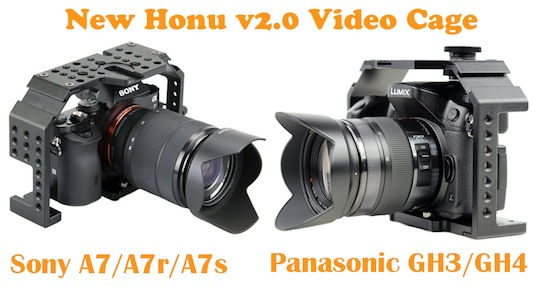 Fhugen Honu v2.0 Cage for Sony A7s (A7/A7r)