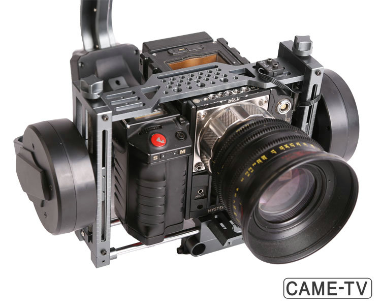 CAME-TV 8000 Heavy Duty 3 Axis Gimbal with RED Epic Demo