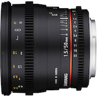 New Samyang 50mm T/1.5 Cine Lens