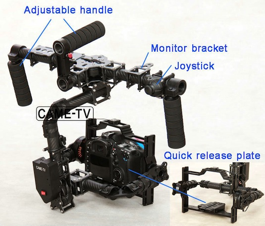 CAME-TV Gimbal Stabilizer 7800 new