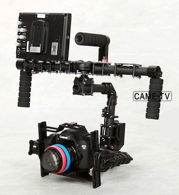 New CAME-TV 7800 Version 3 Axis Gimbal Stabilizer