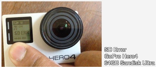 First Problems with GoPro Hero4 4K Camera – Dangerous Battery?