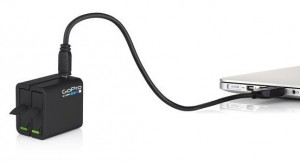 GoPro Hero4 dual battery charger usb
