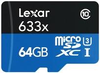 gopro hero4 microsd card speed