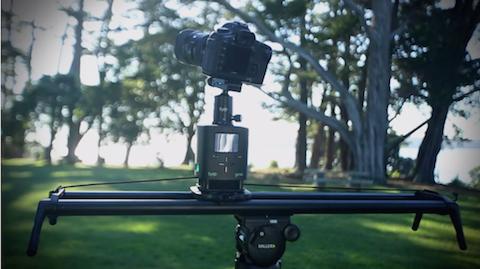 syrp magic carpet camera video slider motion control