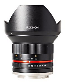 Rokinon 12mm Wide Angle Prime Lens DEAL