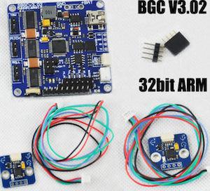 32 bit alexmos basecam control board DIY gimbal