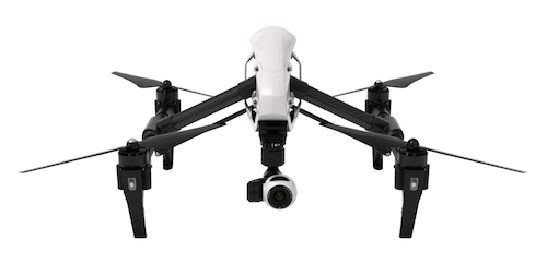 DJI Inspire Quadcopter Multicopter 4K camera gimbal indoor