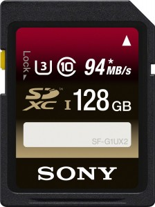 Sony 128GB SDXC Card