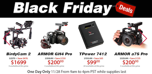 Varavon Black Friday Deals Another Price Cut on Birdycam2 3-Axis Gimbal