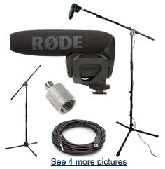 rode videomic pro booming kit