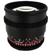 rokinon cine lens