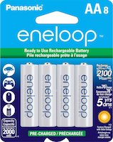 AmazonBasics are More Affordable AA Rechargeable Batteries over Sanyo Eneloop
