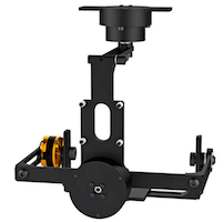 2 Minutes of Uncut Video Footage Demo DIY 3-Axis MiniGimbal Kit