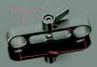 15mm dogbone clamp