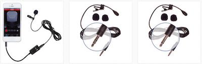 AspenMics Aspen Mic Lav Lavalier Microphones