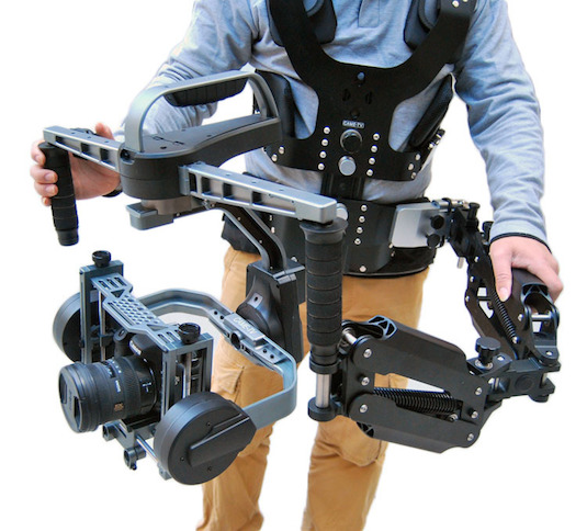 CAMETV 8000 3 Axis Gimbal Stabilizer Supports Large and Heavier Camera Systems