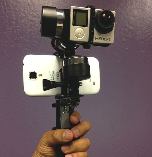 DIY GoPro Z1 Rider Gimbal with L Bracket
