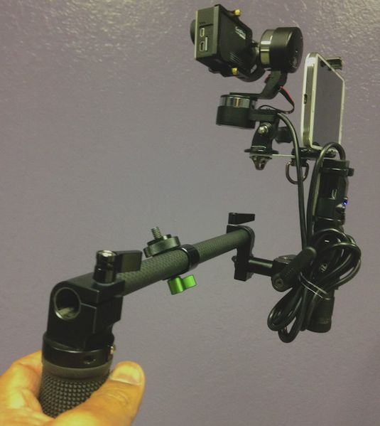 DIY two handle rig Z1 Rider Gimbal