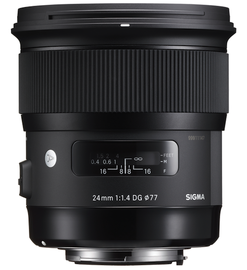 Sigma announces the new 24mm F1.4 DG HSM Art Lens