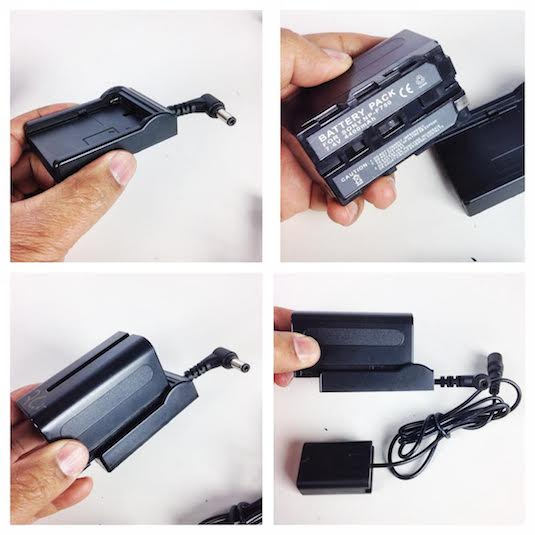 Sony A7s diy external battery