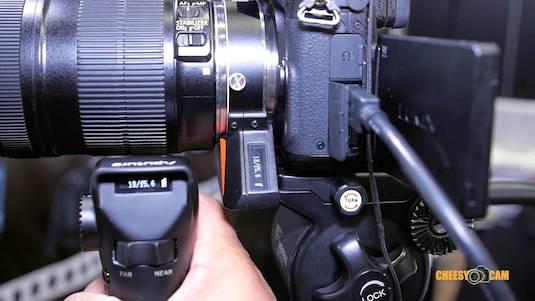Aputure DEC Lens Adapter Canon EF Wireless Follow Focus Cheesycam