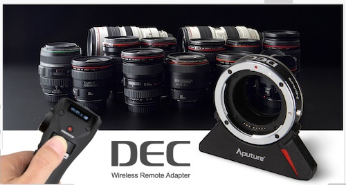 Aputure DEC Lens Adapter wireless follow focus