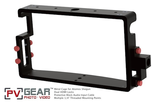 Atomos Shogun Cage PVGear HDMI Locks