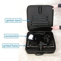 cametv came-tv 7800 3 axis gimbal stabilizer