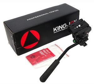 kingjoy vt3510 vt-3510 kenro pro fluid video head manfrotto