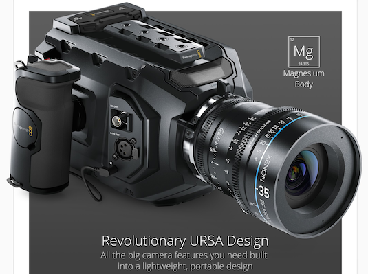 NAB 2015 BlackMagic Design Ursa Mini 4.6K
