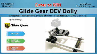 Glide Gear DEV Dolly Giveaway