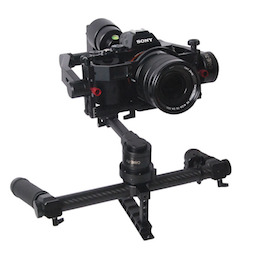 NEW CAME-TV SINGLE Pistol Grip Gimbal Stabilizer and CAME-MINI Version 2 Tool-Less Gimbal